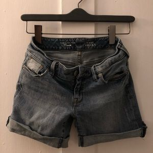 Jean shorts size 0 - The Limited